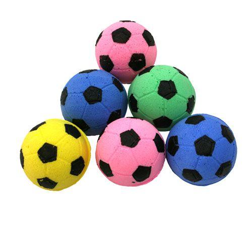 Pěnový fotbalový míček James & Steel