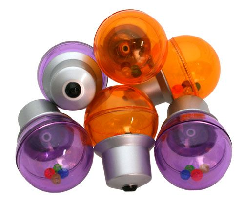 Plastové hračky žárovka James & Steel