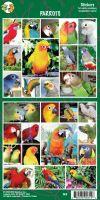 Samolepky papoušci