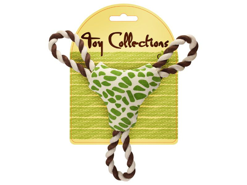 Toy Collections přetahovadlo trojúhelník Rosewood