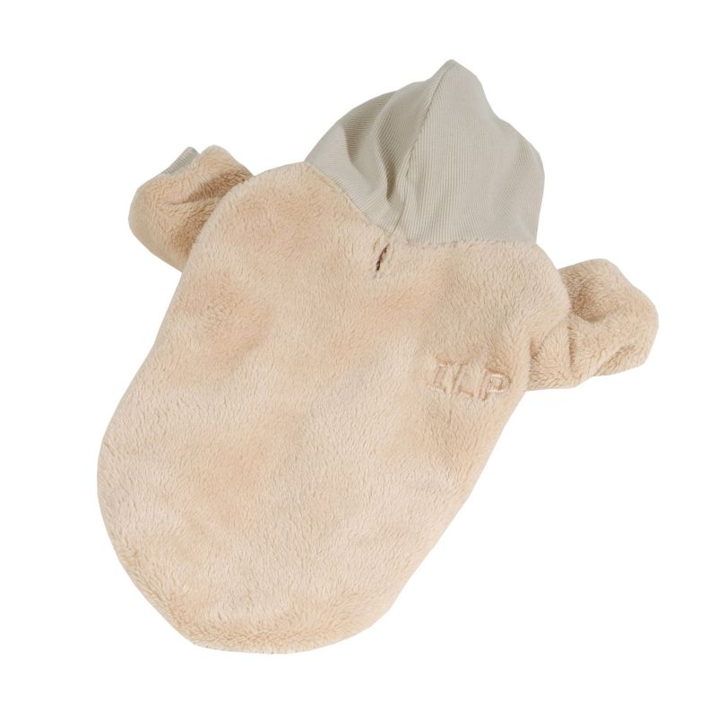 Bunda chlupatice - béžová (doprodej skladových zásob) XL I love pets
