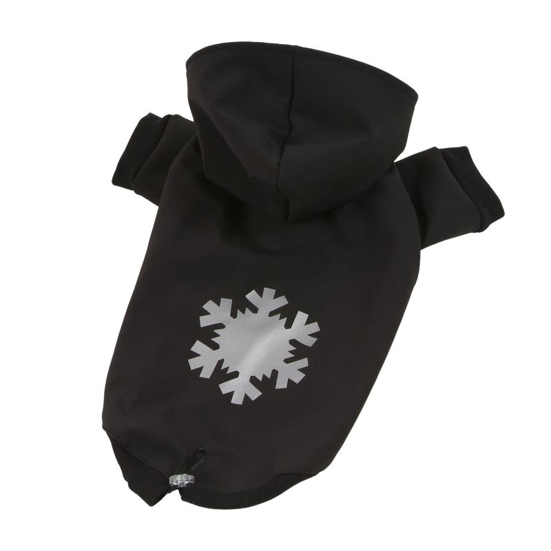 Bunda Softshell - černá XS I love pets