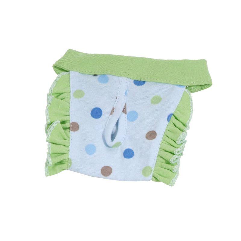Hárací kalhotky Dotty (doprodej skladových zásob) - modrá/zelená M I love pets