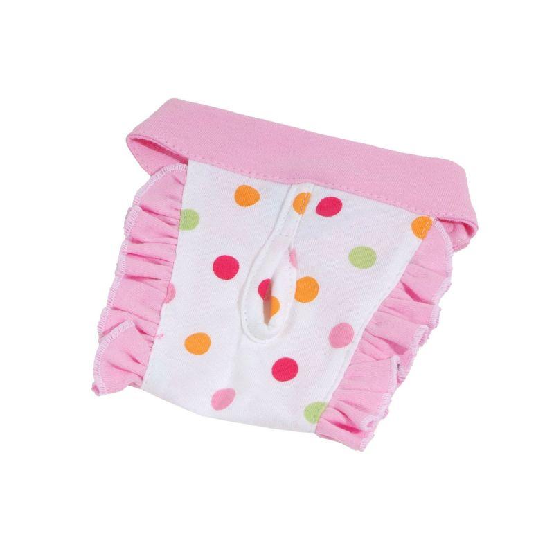 Hárací kalhotky Dotty (doprodej skladových zásob) - světle růžová L I love pets
