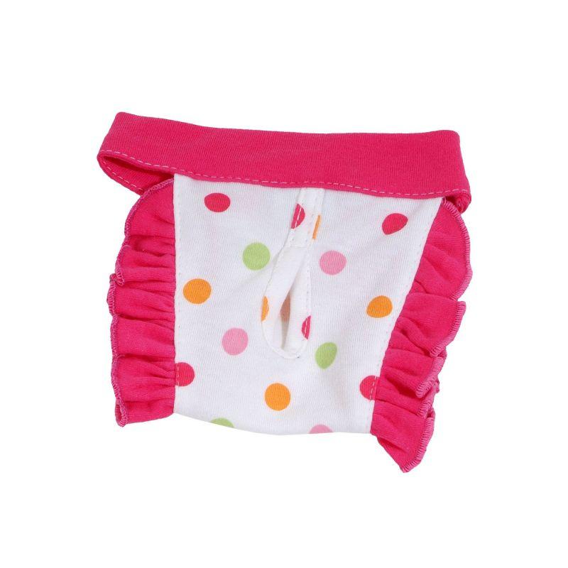 Hárací kalhotky Dotty (doprodej skladových zásob) - tmavě růžová XL I love pets