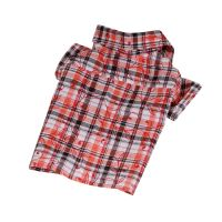 Košile se vzorem - oranžová (doprodej skladových zásob) L