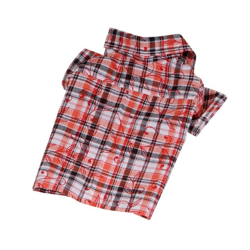 Košile se vzorem - oranžová (doprodej skladových zásob) XXL I love pets