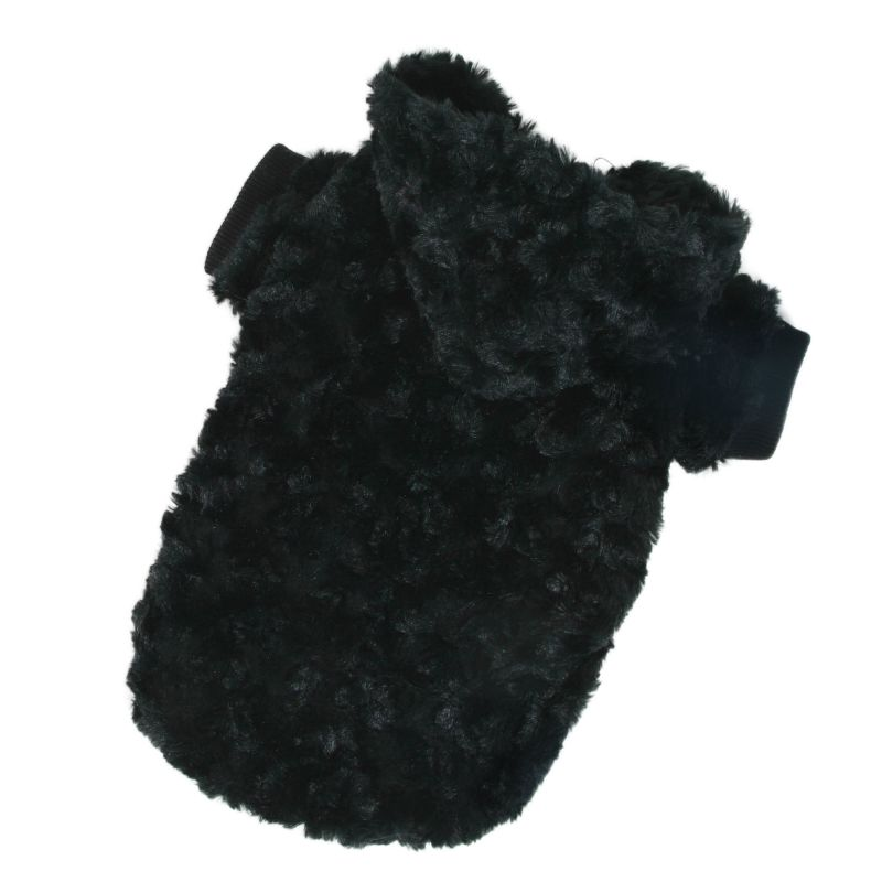 Mikina Fuzzy - černá XS I love pets
