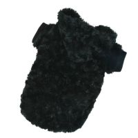 Mikina Fuzzy - černá XXS