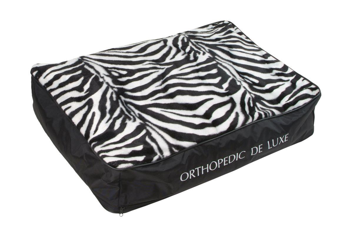 Ortopedická matrace De Luxe 110 x 80 cm zebra I love pets