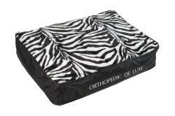 Ortopedická matrace De Luxe 130 x 100 cm zebra I love pets