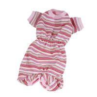 Pyžamo pruhované - růžová (doprodej skladových zásob) S