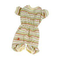Pyžamo pruhované - žlutá (doprodej skladových zásob) XXS