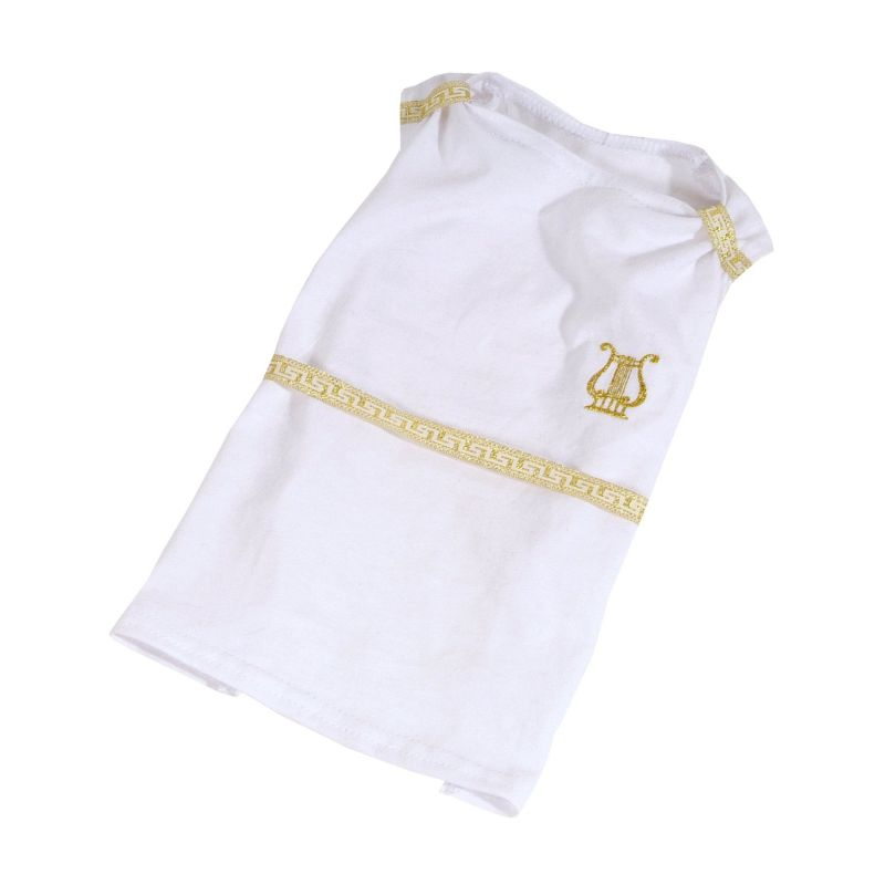 Šaty Artemis - bílá (doprodej skladových zásob) L I love pets