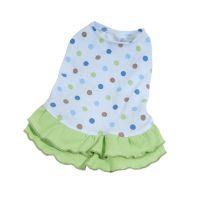 Šaty Dotty - modrá/zelená (doprodej skladových zásob) M