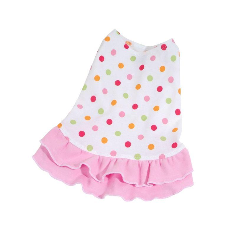 Šaty Dotty - světle růžová (doprodej skladových zásob) XXS I love pets