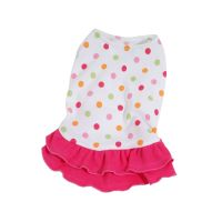 Šaty Dotty - tmavě růžová (doprodej skladových zásob) XXS