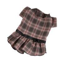 Šaty kostka - tmavě šedá (doprodej skladových zásob) XS
