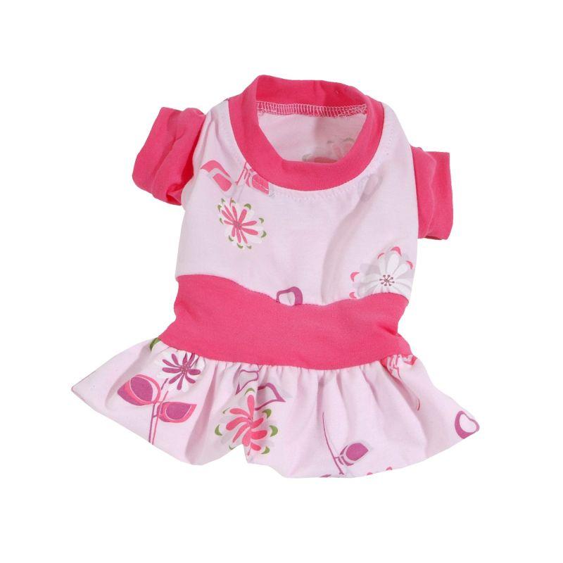 Šaty Summer (doprodej skladových zásob) - růžová XXS I love pets