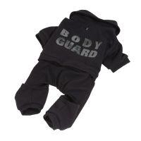 Teplákovka bodyguard - černá XXS