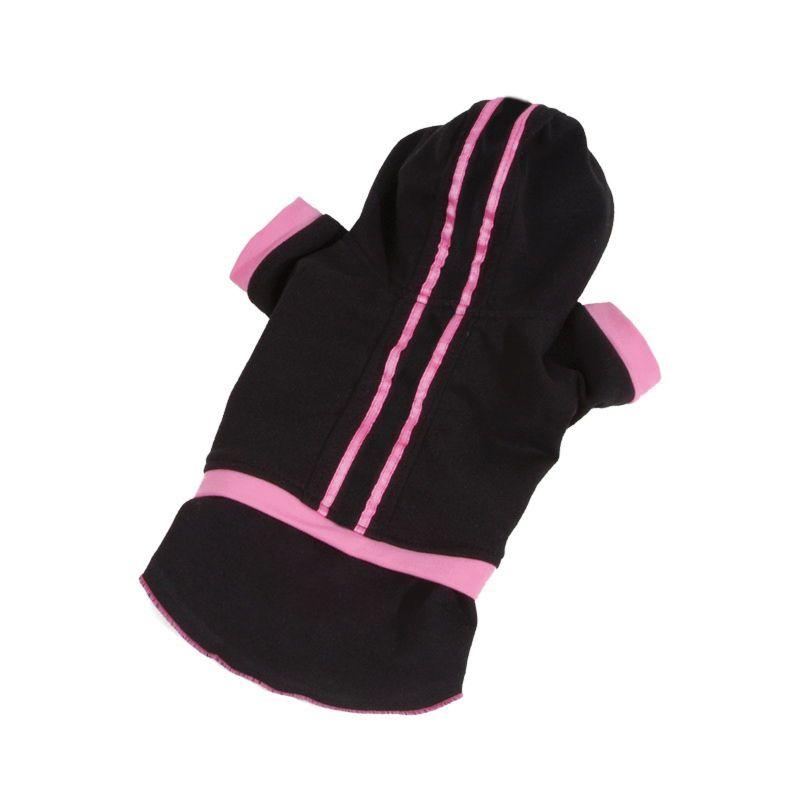 Teplákovka se sukní - černá (doprodej skladových zásob) XXS I love pets