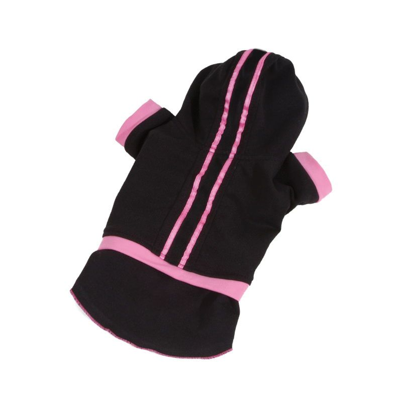 Teplákovka se sukní - černá (doprodej skladových zásob) XL I love pets