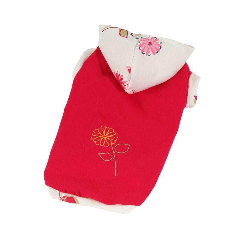 Tričko Bloom (doprodej skladových zásob) - červená M I love pets