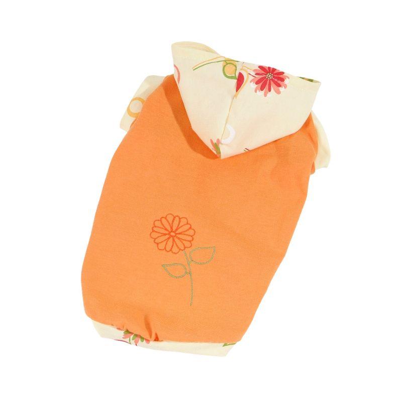 Tričko Bloom (doprodej skladových zásob) - oranžová L I love pets