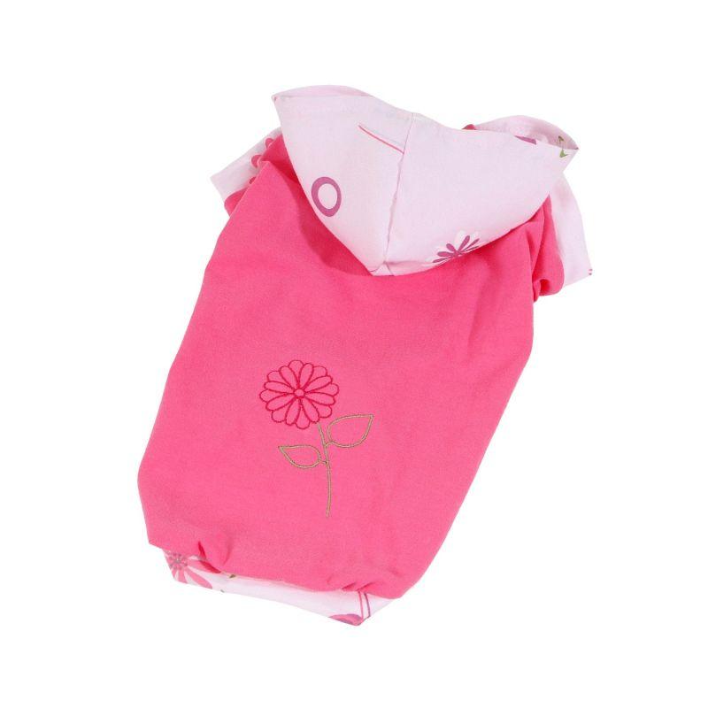 Tričko Bloom (doprodej skladových zásob) - růžová L I love pets