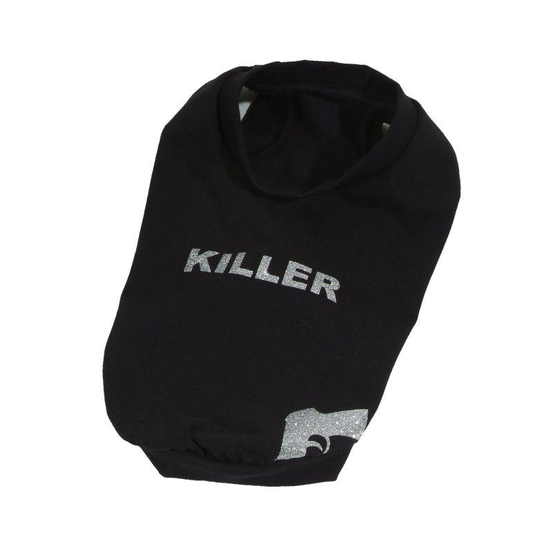 Tričko Killer - černá L I love pets