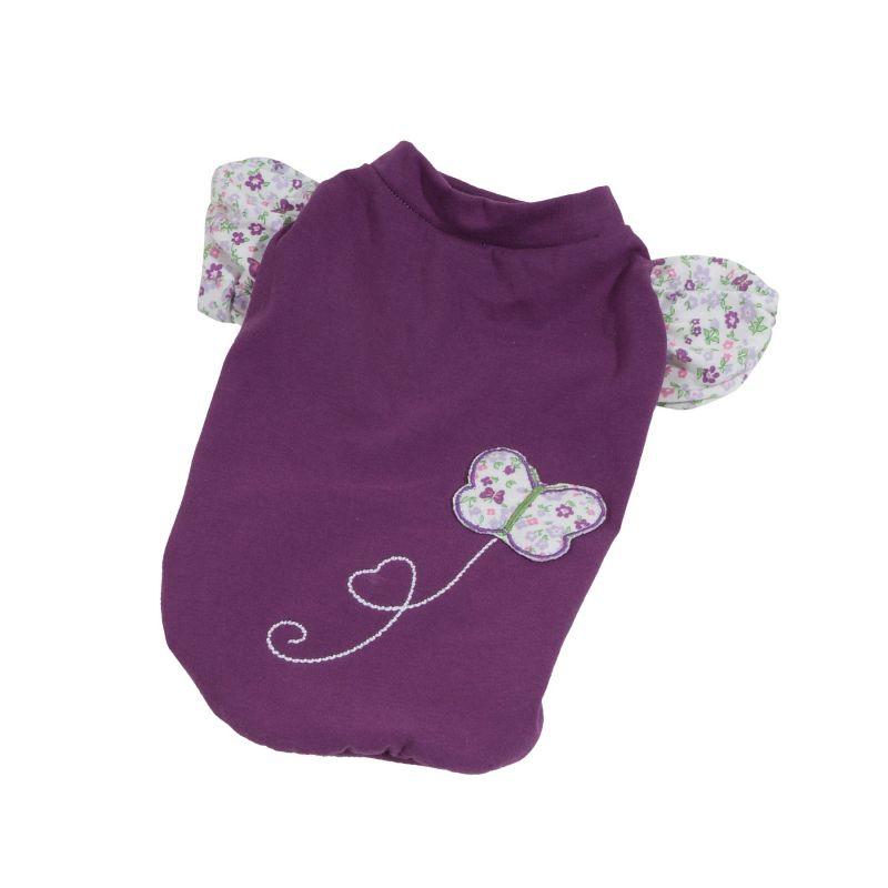 Tričko Spring (doprodej skladových zásob) - fialová XXS I love pets