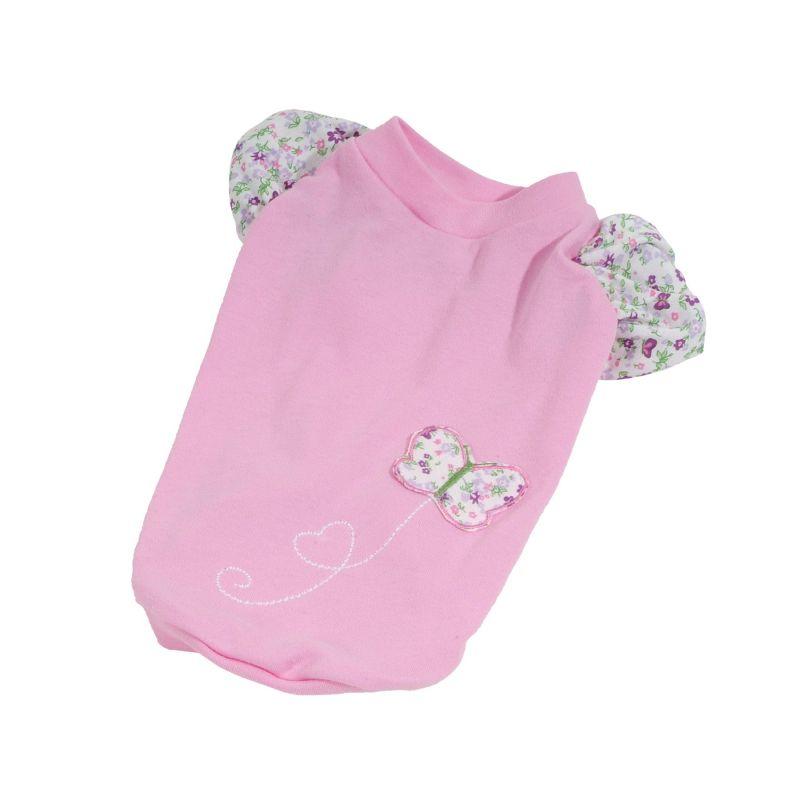 Tričko Spring (doprodej skladových zásob) - světle růžová XS I love pets