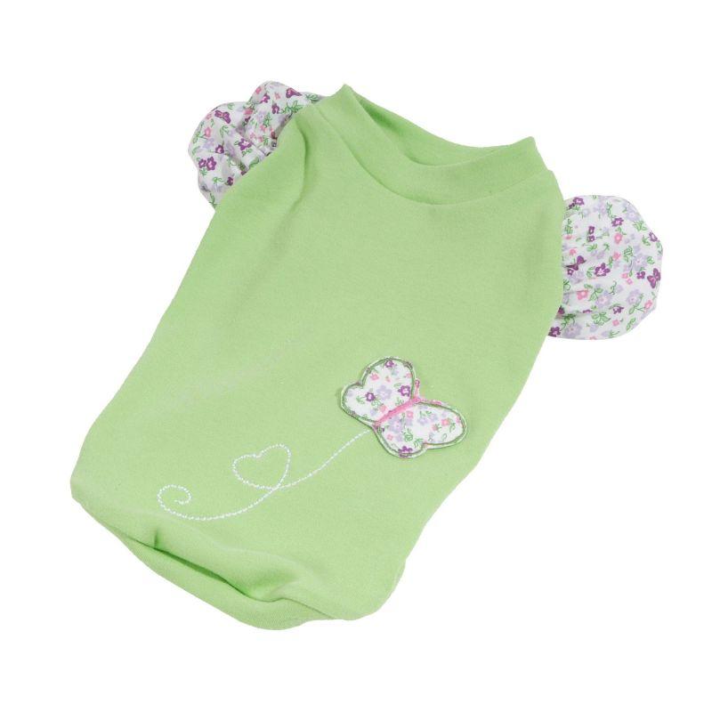 Tričko Spring (doprodej skladových zásob) - zelená L I love pets