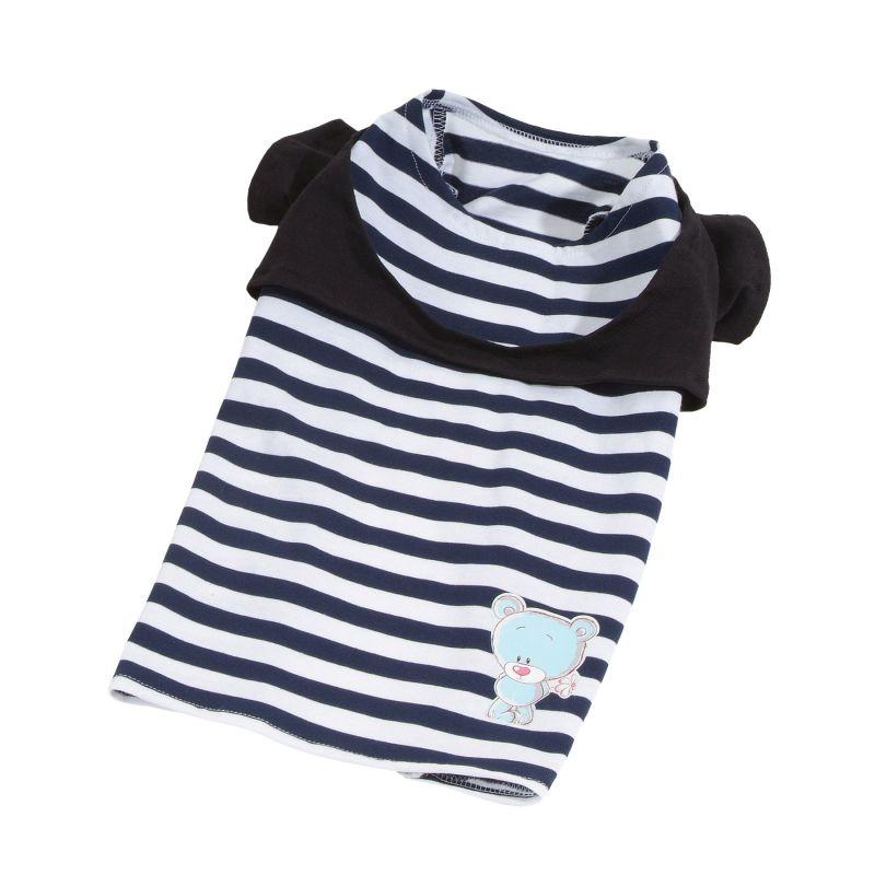 Tričko Teddy - modrá (doprodej skladových zásob) S I love pets