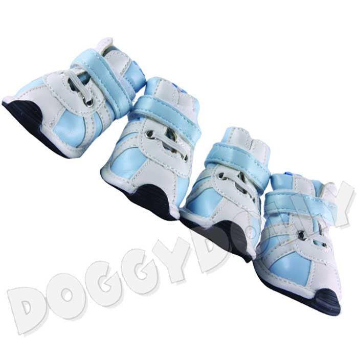 Boty Doggydolly modrý proužek XS