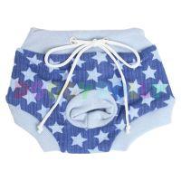 Kalhotky Doggydolly modré hvězdičky XS