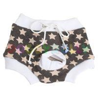 Kalhotky Doggydolly šedé hvězdičky XS