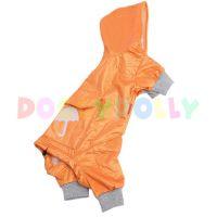 Lehká pláštěnka Doggydolly oranžová XXS