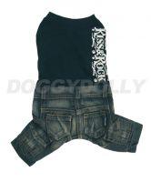 Obleček Doggydolly Kiss&Rock boy XS