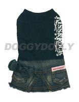Obleček Doggydolly Kiss&Rock girl XS