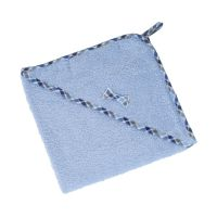 Osuška froté 100 x 100 cm modrá
