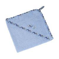 Osuška froté 75 x 75 cm modrá