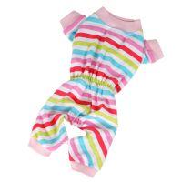 Pyžamo proužek (doprodej skladových zásob) - růžová XS