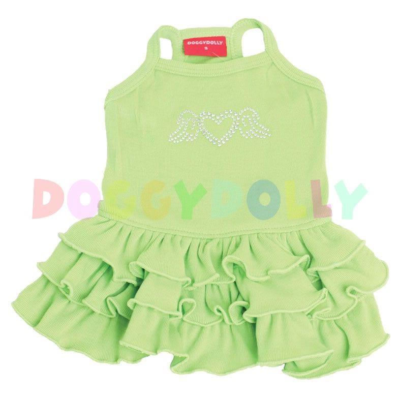 Šaty Doggydolly Tanktop zelená L