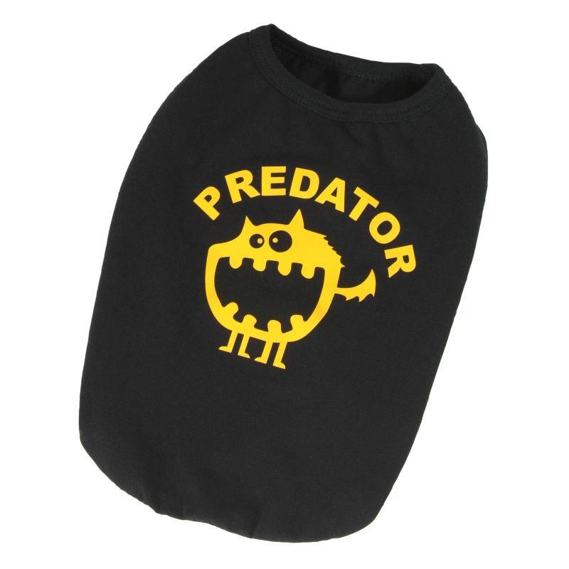 Tričko Predator - černá S I love pets
