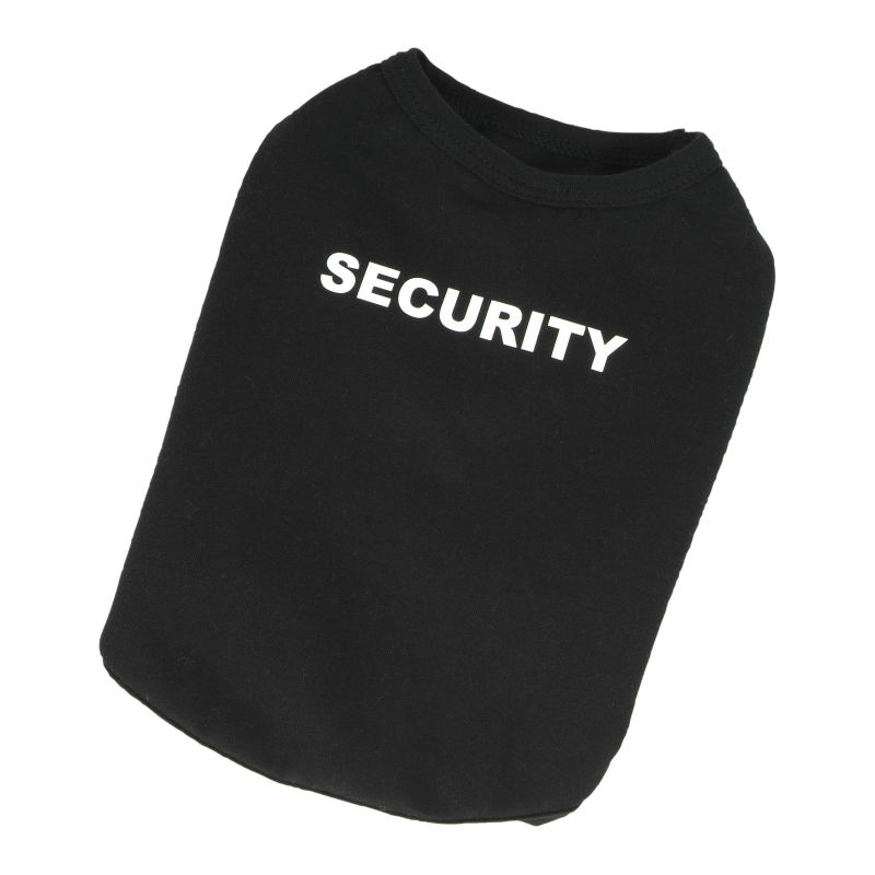 Tričko Security - černá S I love pets