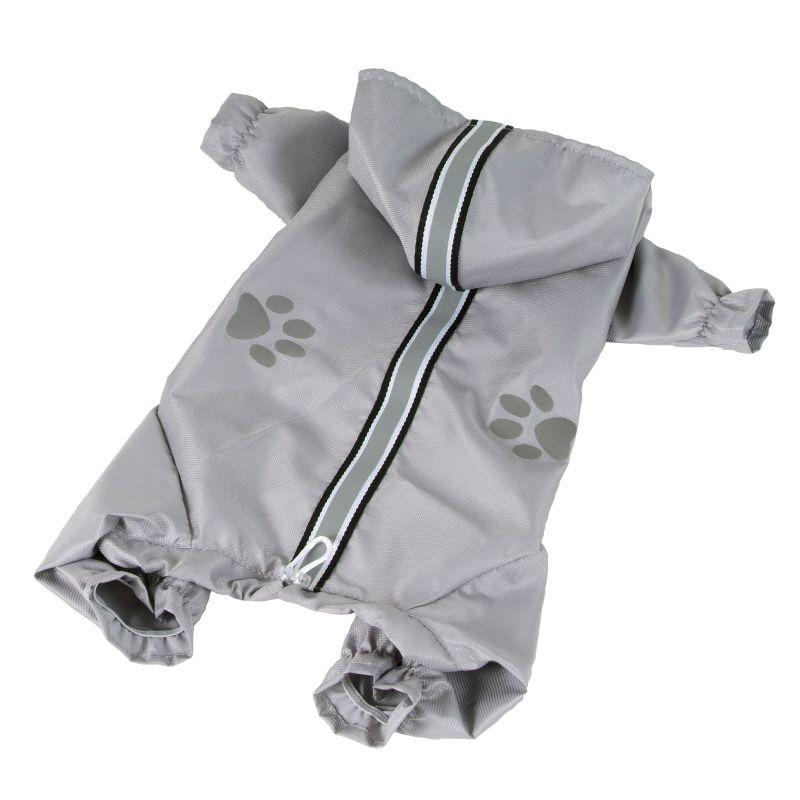 Kombinéza lehká šusťáková reflex - šedá XL I love pets