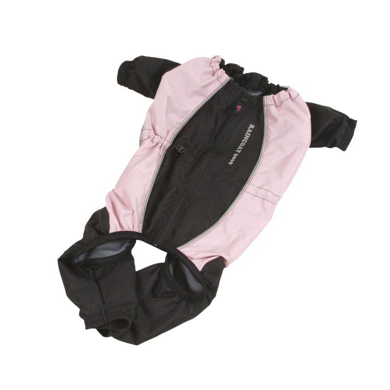 Kombinéza Raincoat BIG - růžová 70 (XL) I love pets