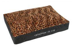 Ortopedická matrace De Luxe 130 x 100 cm žirafa I love pets