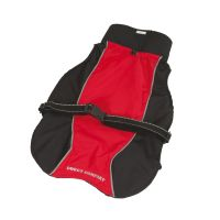 Pláštěnka Doggy Comfort - červená 25 (S)